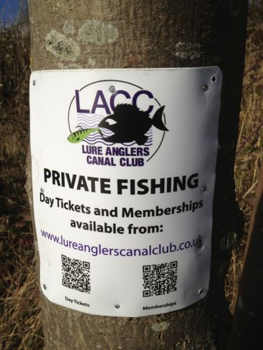 Some clubs are starting to use modern technology such as QR codes on their club signs to allow anglers with smartphones to buy day tickets on the bank