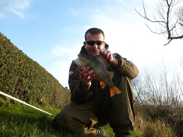 Rado with a nice stillwater Perch.