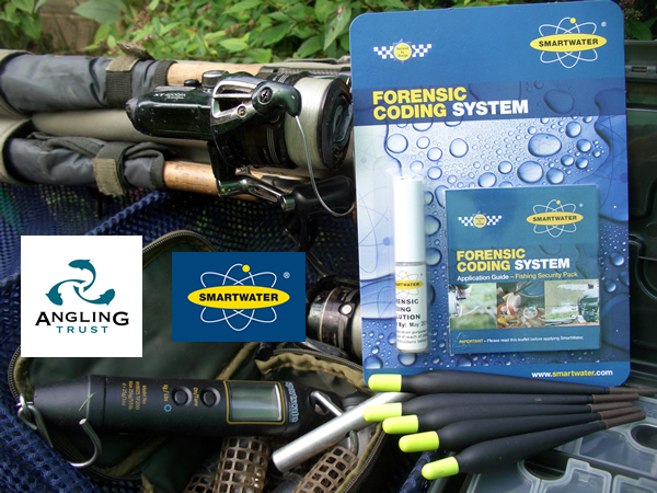 2.The use of SmartWater, as explained, in detail, here in Dilip's blog, will help drive down tackle theft – another important partnership and prime example of the Angling Trust working on issues that are really important to mainstream anglers.