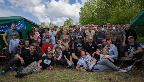 Integrated anglers of the Polish Angling Association: fishing by the rules and enjoying what angling is really all about.