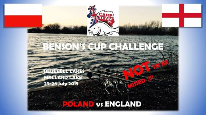 Poland vs England organised by Carp Team PL https://www.facebook.com/CarpTeamPL?fref=ts