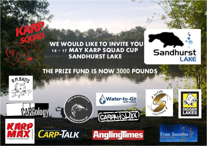 KARP SQUAD CUP everyone is welcome. More info at https://www.facebook.com/events/542043302565179/