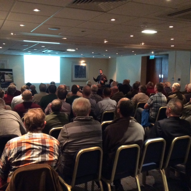A packed out at one of our recent Freshwater Fisheries Forums