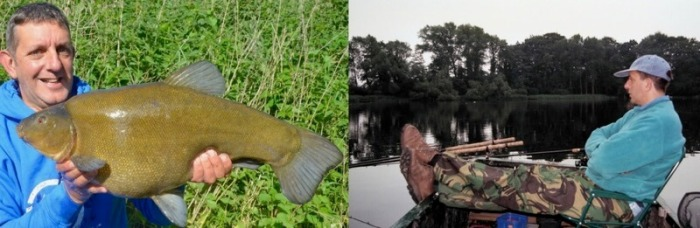 Dai Gribble Angling Trust specimen fishing tench