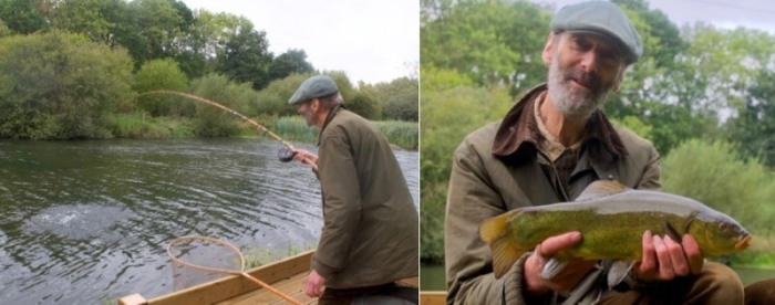 Chris Yates coarse fishing tench