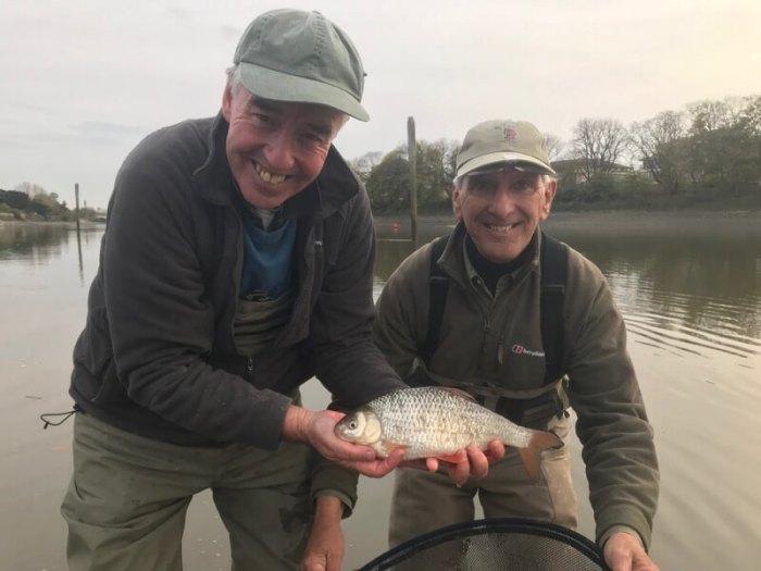Keith Arthur Fishing River Thames