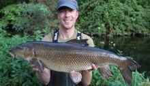 James Champkin specimen fishing barbel angling trust