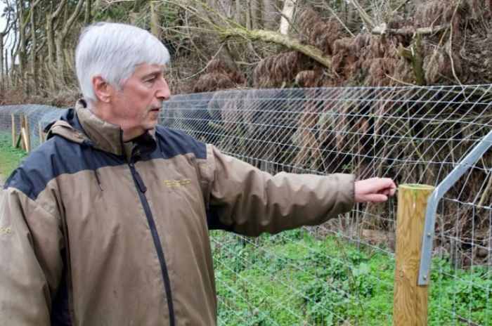 otter fencing checks tips advice fisheries