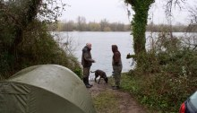 Cotswold water park otters fishing carp