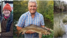 River Medway fishing club barbel