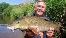 Dave Harrell barbel fishing