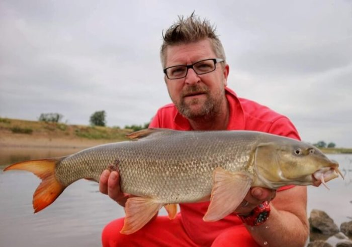 Phil Taylor fishing barbel