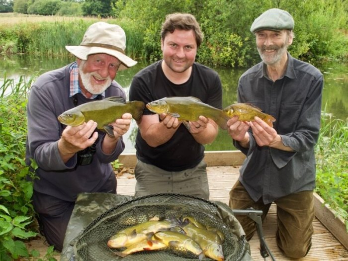 Chris Yates Hugh Miles Passion for Angling