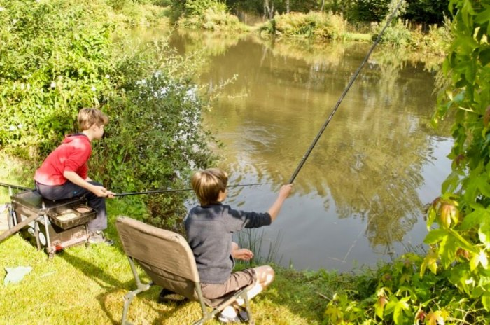 Junior fishing lessons