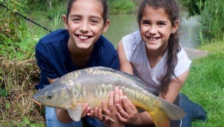 Girls fishing Angling Trust