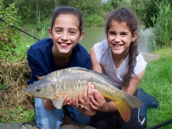 Girls fishing Angling Trust