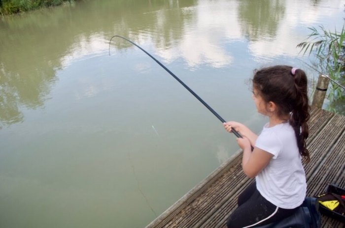 whip fishing for kids
