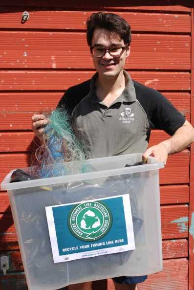 Alex Clegg National Fishing Line Recycling Scheme