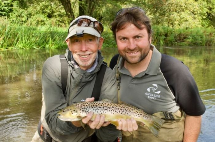 Charles Jardine Fly Fishing Angling Trust