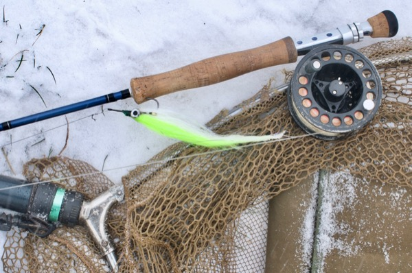 pike fly fishing tackle