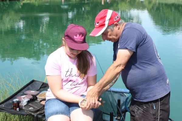 Angling coach volunteering