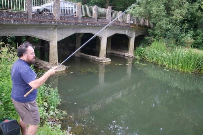 Mark Everard river fishing